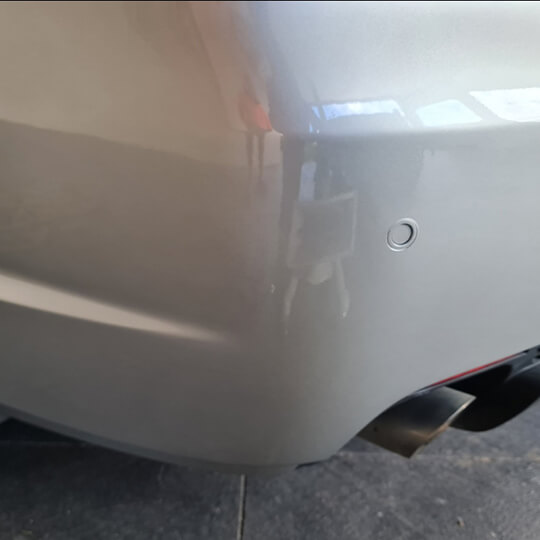 image of after  a car scratch repair