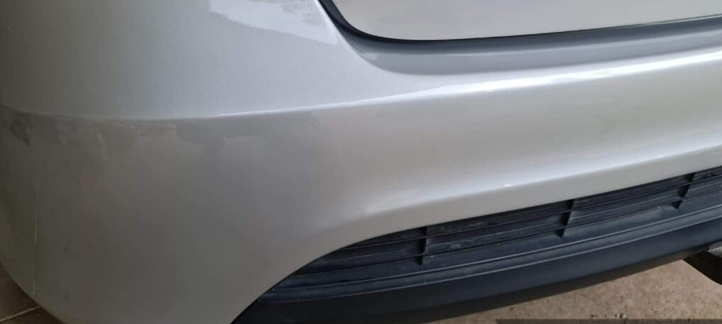 results after repair showing no scratches or dents